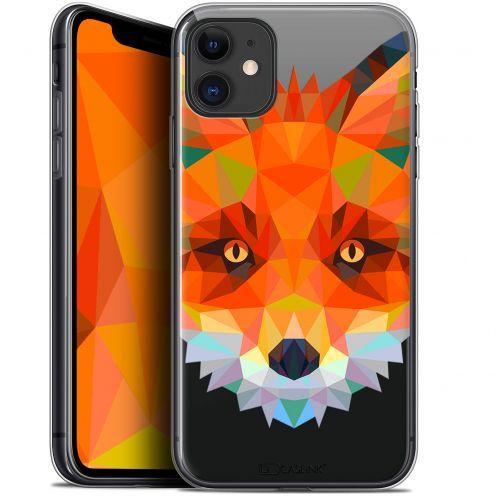 "Carcasa Gel Extra Fina Apple iPhone 11 (6.1"") Polygon Animals Zorro"