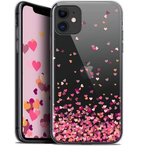 "Carcasa Gel Extra Fina Apple iPhone 11 (6.1"") Sweetie Heart Flakes"