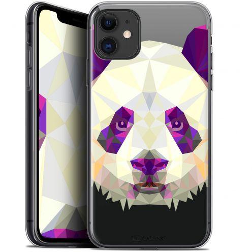 "Carcasa Gel Extra Fina Apple iPhone 11 (6.1"") Polygon Animals Panda"