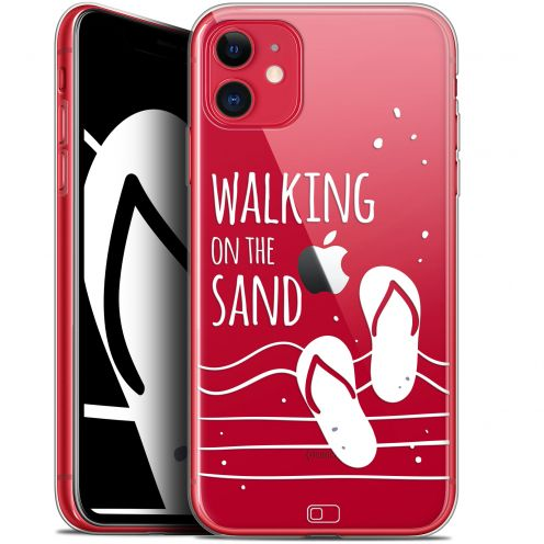 "Carcasa Gel Extra Fina Apple iPhone 11 (6.1"") Summer Walking on the Sand"