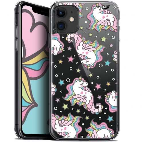 "Carcasa Gel Extra Fina Apple iPhone 11 (6.1"") Design Licorne Dormante"