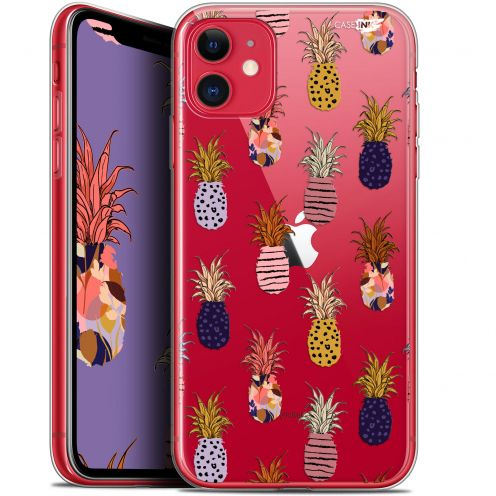 "Carcasa Gel Extra Fina Apple iPhone 11 (6.1"") Design Ananas Gold"