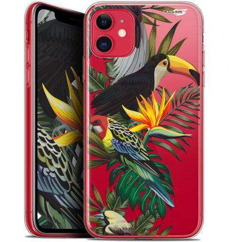 "Carcasa Gel Extra Fina Apple iPhone 11 (6.1"") Design Toucan Tropical"