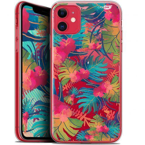 "Carcasa Gel Extra Fina Apple iPhone 11 (6.1"") Design Couleurs des Tropiques"