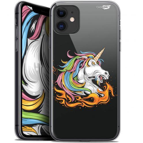 """Carcasa Gel Extra Fina Apple iPhone 11 (6.1"""") Design Licorne de Feu"""