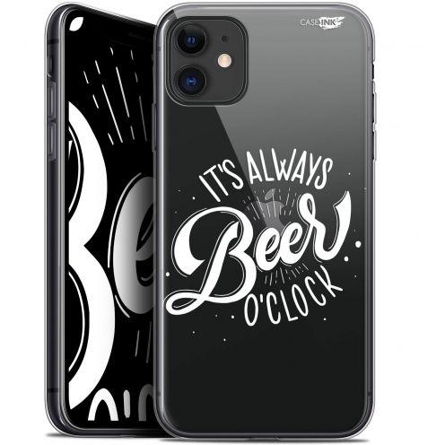 "Carcasa Gel Extra Fina Apple iPhone 11 (6.1"") Design Its Beer O'Clock"