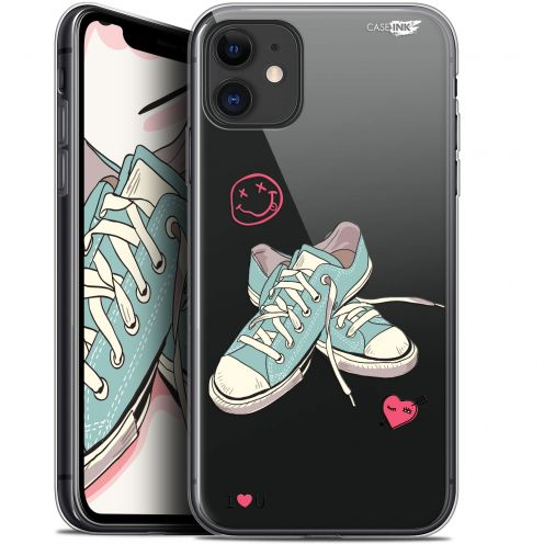 """Carcasa Gel Extra Fina Apple iPhone 11 (6.1"""") Design Mes Sneakers d'Amour"""