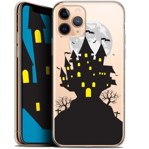 "Carcasa Gel Extra Fina Apple iPhone 11 Pro (5.8"") Halloween Castle Scream"