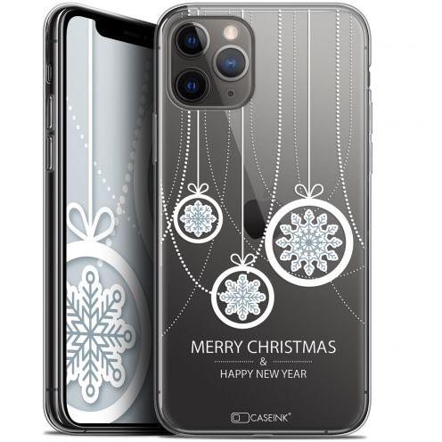 "Carcasa Gel Extra Fina Apple iPhone 11 Pro (5.8"") Noël 2017 Christmas Balls"