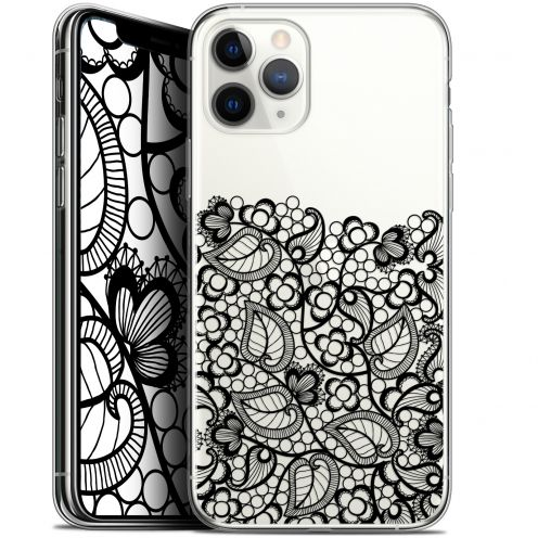 "Carcasa Gel Extra Fina Apple iPhone 11 Pro (5.8"") Spring Bas dentelle Noir"