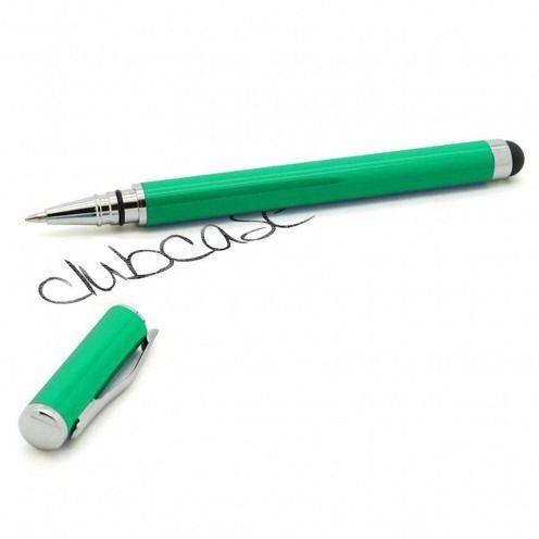 Bolígrafo táctil bola con tape verde