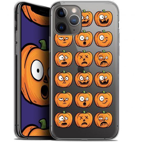 "Carcasa Gel Extra Fina Apple iPhone 11 Pro Max (6.5"") Halloween Cartoon Citrouille"