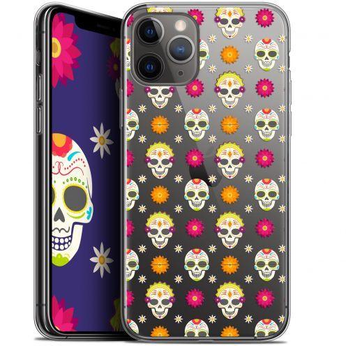 "Carcasa Gel Extra Fina Apple iPhone 11 Pro Max (6.5"") Halloween Skull Halloween"