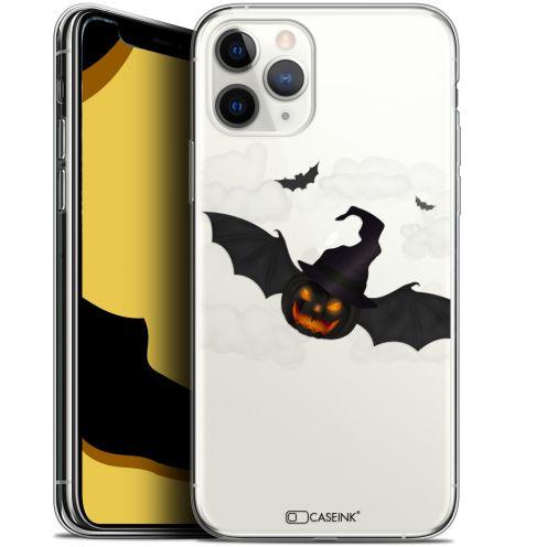 "Carcasa Gel Extra Fina Apple iPhone 11 Pro Max (6.5"") Halloween Chauve Citrouille"