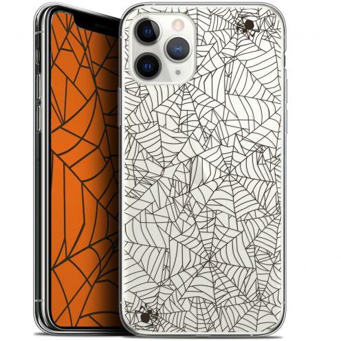 "Carcasa Gel Extra Fina Apple iPhone 11 Pro Max (6.5"") Halloween Spooky Spider"