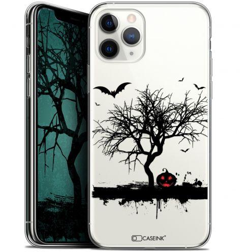 "Carcasa Gel Extra Fina Apple iPhone 11 Pro Max (6.5"") Halloween Devil's Tree"