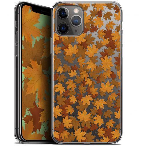 "Carcasa Gel Extra Fina Apple iPhone 11 Pro Max (6.5"") Autumn 16 Feuilles"