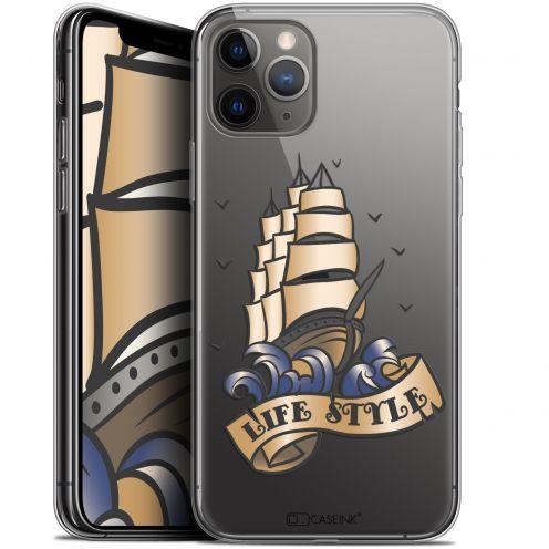 "Carcasa Gel Extra Fina Apple iPhone 11 Pro Max (6.5"") Tatoo Lover Fashion"