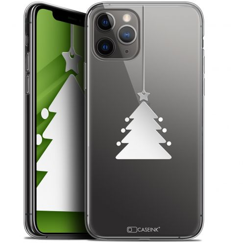 "Carcasa Gel Extra Fina Apple iPhone 11 Pro Max (6.5"") Noël 2017 Petit Arbre"