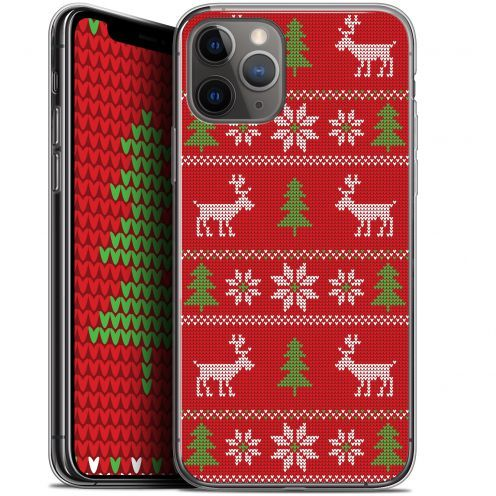 """Carcasa Gel Extra Fina Apple iPhone 11 Pro Max (6.5"""") Noël 2017 Couture Rouge"""