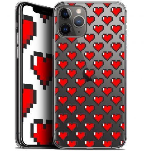"Carcasa Gel Extra Fina Apple iPhone 11 Pro Max (6.5"") Love Pixel Art"