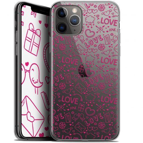 "Carcasa Gel Extra Fina Apple iPhone 11 Pro Max (6.5"") Love Doodle"