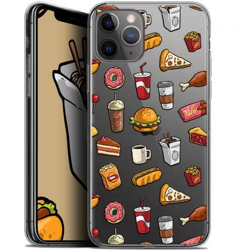 "Carcasa Gel Extra Fina Apple iPhone 11 Pro Max (6.5"") Foodie Fast Food"