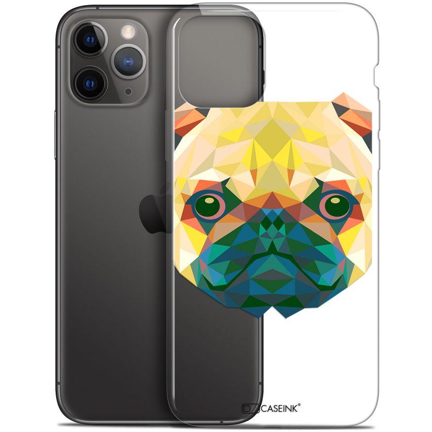 "Carcasa Gel Extra Fina Apple iPhone 11 Pro Max (6.5"") Polygon Animals Perro"