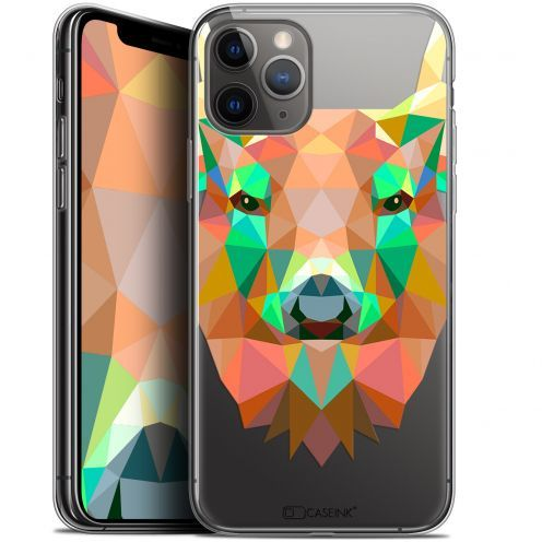 "Carcasa Gel Extra Fina Apple iPhone 11 Pro Max (6.5"") Polygon Animals Ciervo"