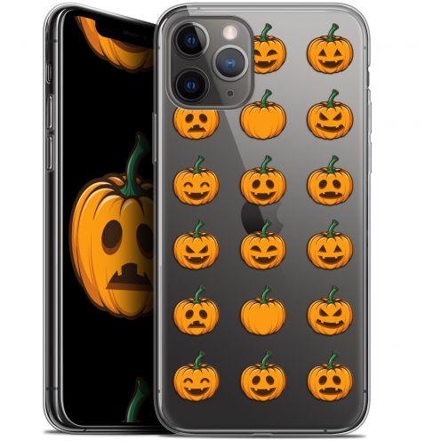 "Carcasa Gel Extra Fina Apple iPhone 11 Pro Max (6.5"") Halloween Smiley Citrouille"