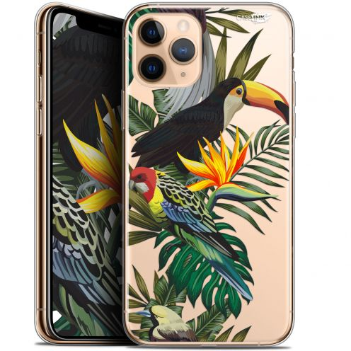 "Carcasa Gel Extra Fina Apple iPhone 11 Pro Max (6.5"") Design Toucan Tropical"