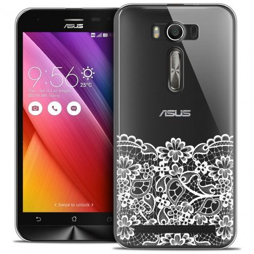 Carcasa Crystal Extra Fina Zenfone 2 Laser 5.0 (ZE550KL) Spring Bas dentelle