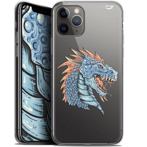 "Carcasa Gel Extra Fina Apple iPhone 11 Pro Max (6.5"") Design Dragon Draw"