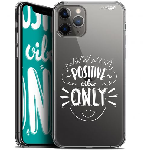 """Carcasa Gel Extra Fina Apple iPhone 11 Pro Max (6.5"""") Design Positive Vibes Only"""