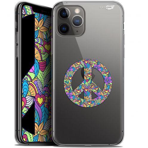 "Carcasa Gel Extra Fina Apple iPhone 11 Pro Max (6.5"") Design Peace And Love"