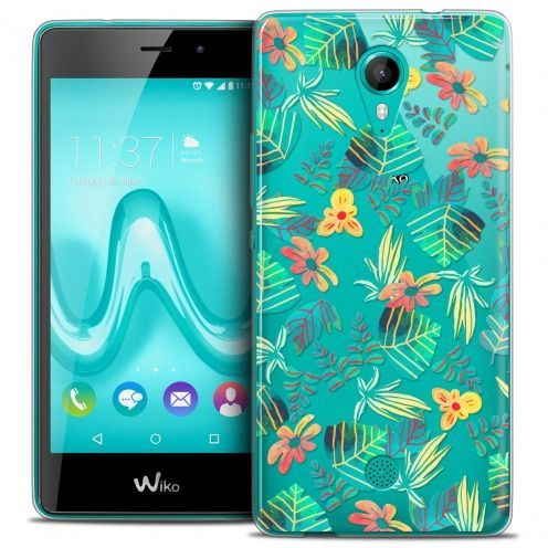 Carcasa Crystal Gel Extra Fina Wiko Tommy Spring Tropical