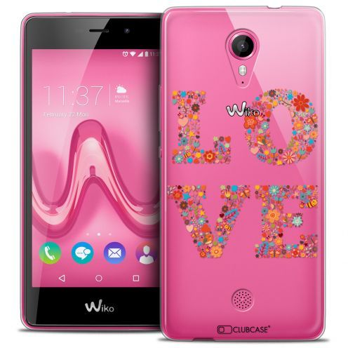 Carcasa Crystal Gel Extra Fina Wiko Tommy Summer Love Flowers