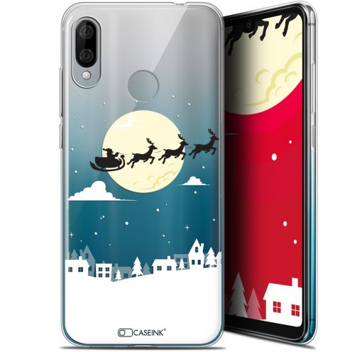 "Carcasa Gel Extra Fina Wiko View 3 LITE (6.09"") Noël 2017 Flying Stanta"