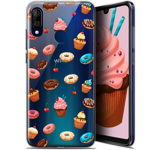 """Carcasa Gel Extra Fina Wiko View 3 LITE (6.09"""") Foodie Donuts"""