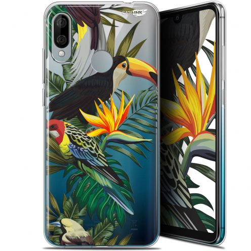 "Carcasa Gel Extra Fina Wiko View 3 LITE (6.09"") Design Toucan Tropical"
