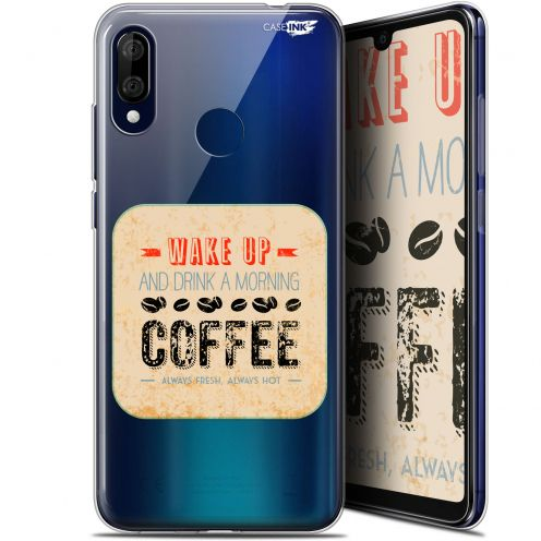 "Carcasa Gel Extra Fina Wiko View 3 LITE (6.09"") Design Wake Up With Coffee"
