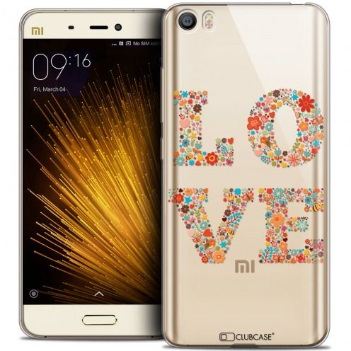 Carcasa Crystal Gel Extra Fina Xiaomi Mi 5 Summer Love Flowers