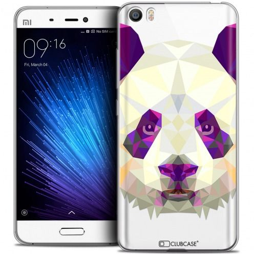 Carcasa Crystal Gel Extra Fina Xiaomi Mi 5 Polygon Animals Panda