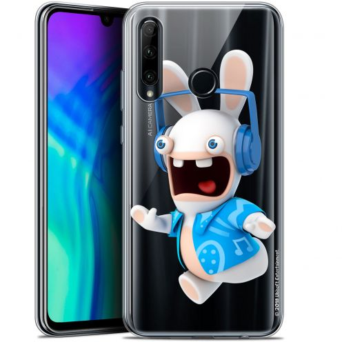 "Carcasa Gel Huawei Honor 20 LITE (6.2"") Lapins Crétins™ Techno Lapin"