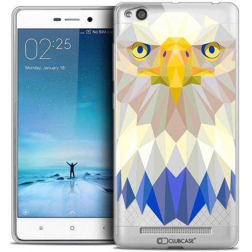 Carcasa Crystal Gel Extra Fina Xiaomi Redmi 3 Polygon Animals Águila