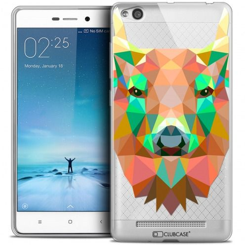 Carcasa Crystal Gel Extra Fina Xiaomi Redmi 3 Polygon Animals Ciervo