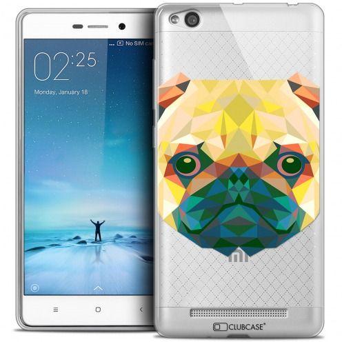 Carcasa Crystal Gel Extra Fina Xiaomi Redmi 3 Polygon Animals Perro