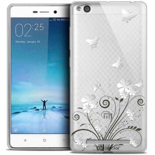 Carcasa Crystal Gel Extra Fina Xiaomi Redmi 3 Summer Papillons