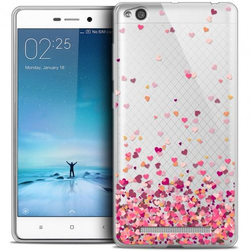 Carcasa Crystal Gel Extra Fina Xiaomi Redmi 3 Sweetie Heart Flakes
