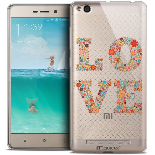Carcasa Crystal Gel Extra Fina Xiaomi Redmi 3 Summer Love Flowers